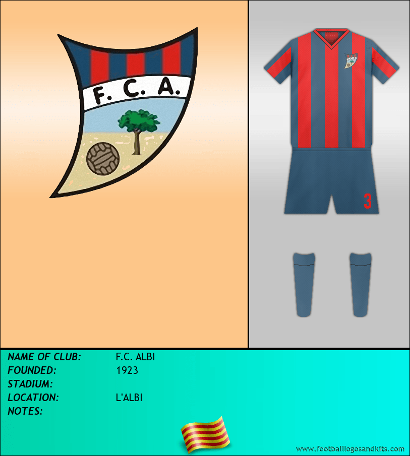 Logo of F.C. ALBI
