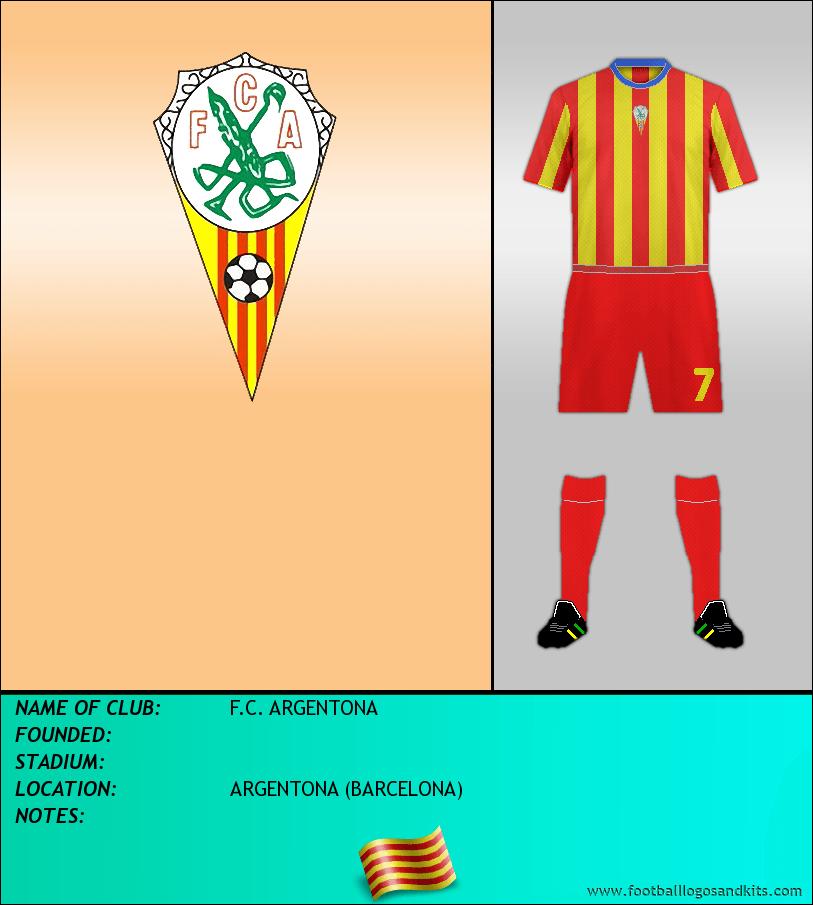 Logo of F.C. ARGENTONA