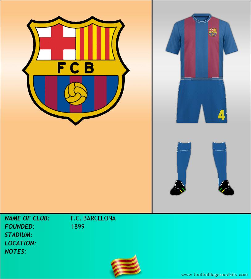 Logo of F.C. BARCELONA