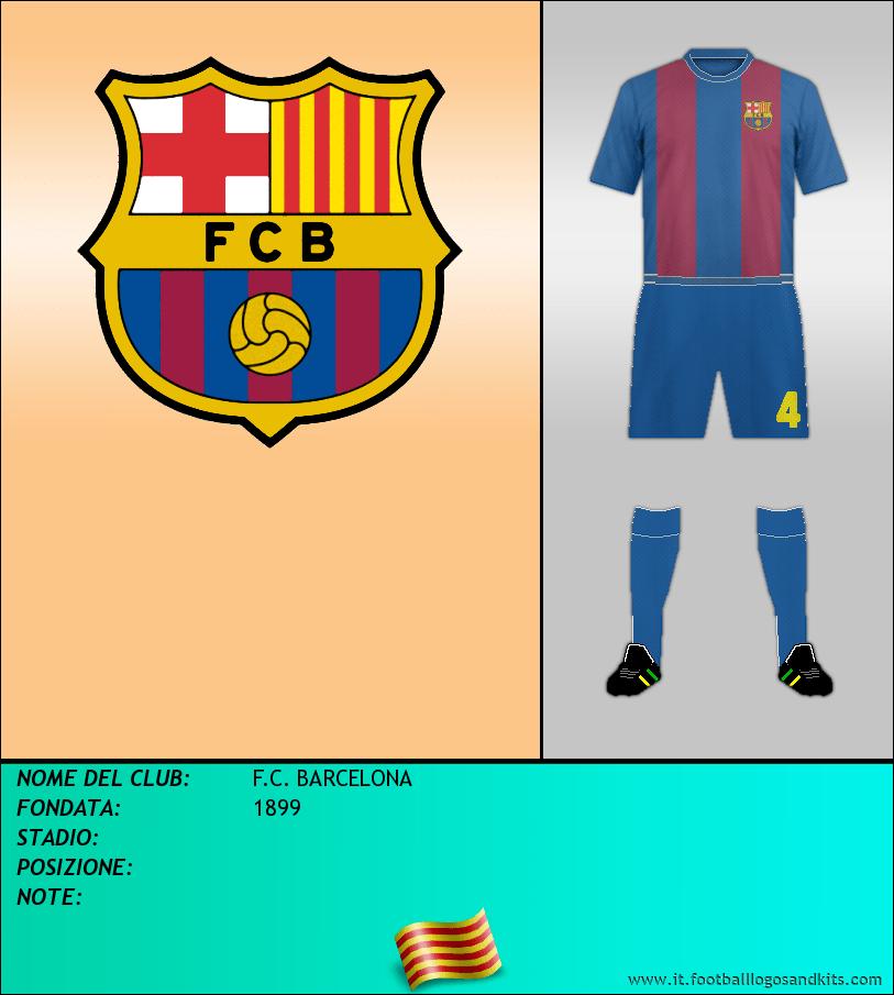 Logo di F.C. BARCELONA