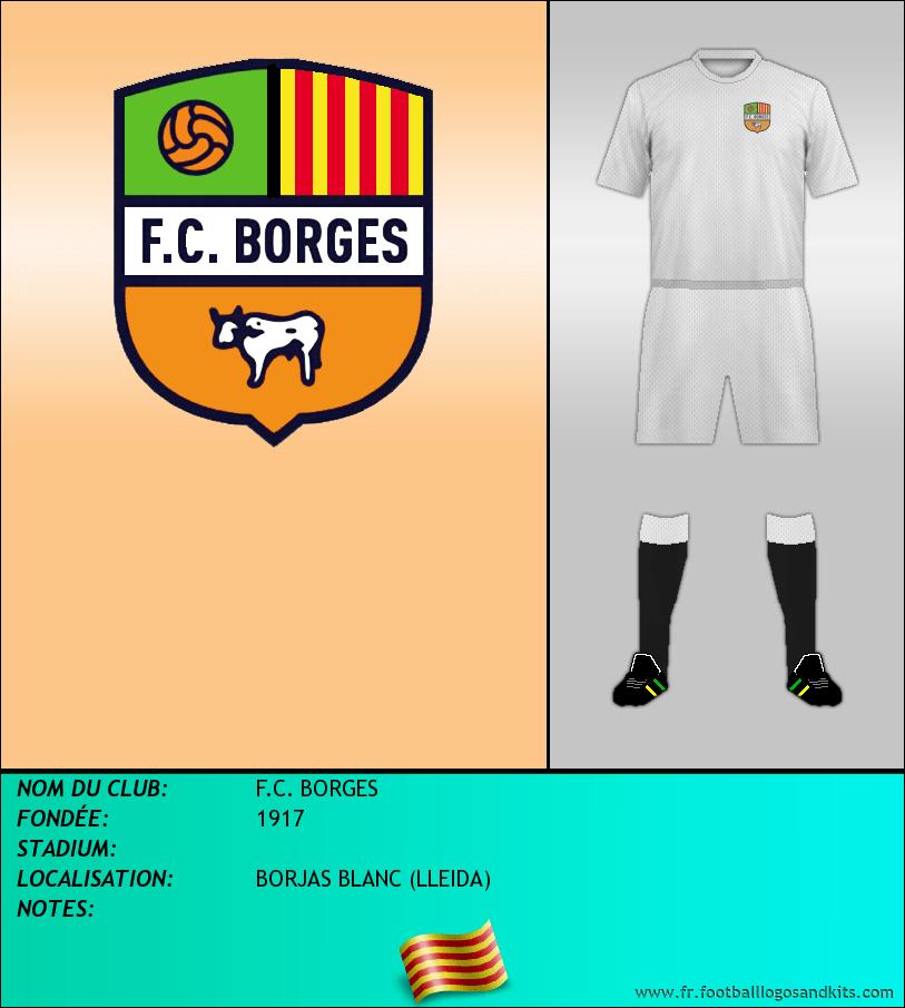Logo de F.C. BORGES