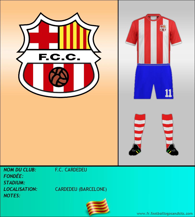 Logo de F.C. CARDEDEU