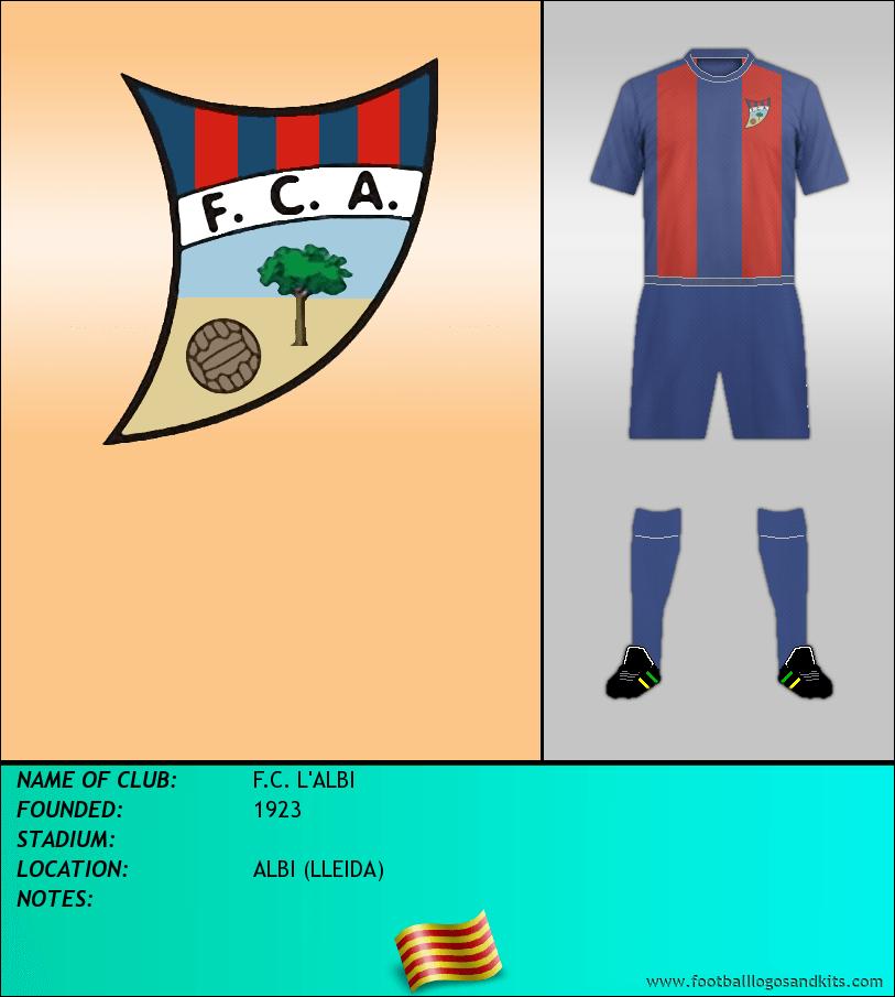 Logo of F.C. L'ALBI