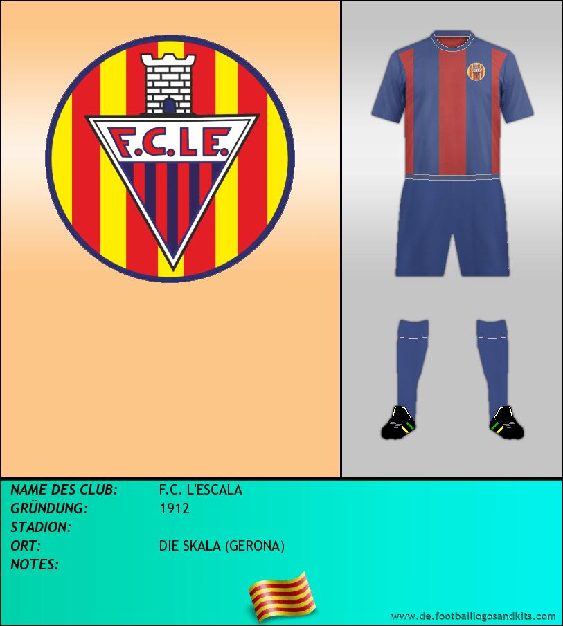 Logo F.C. L'ESCALA