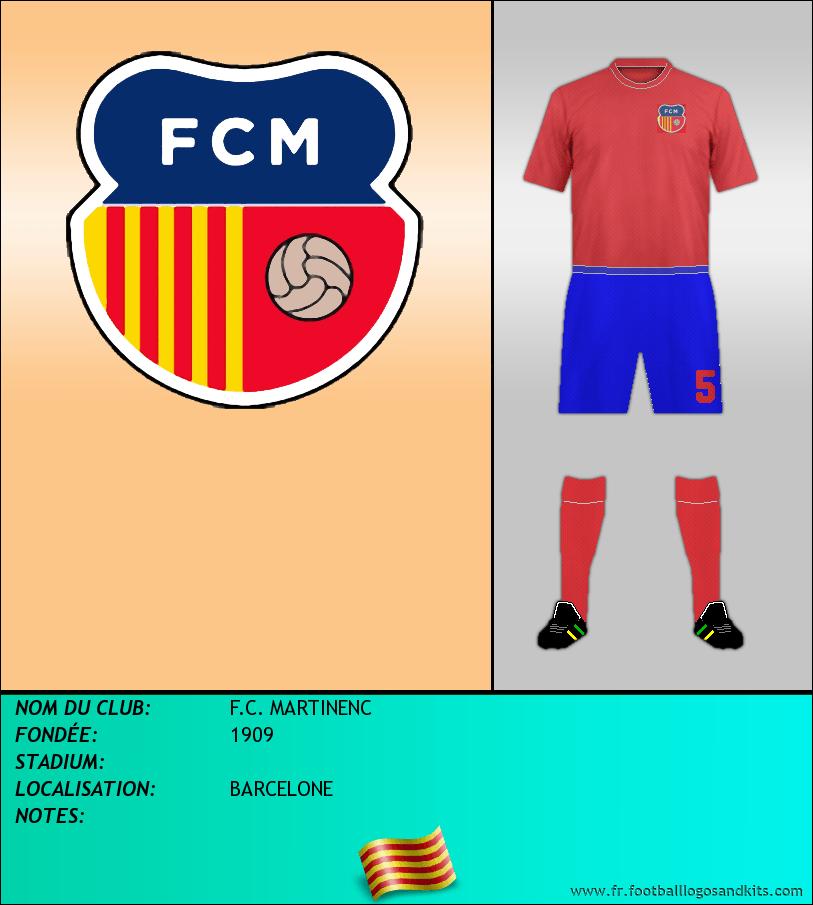 Logo de F.C. MARTINENC