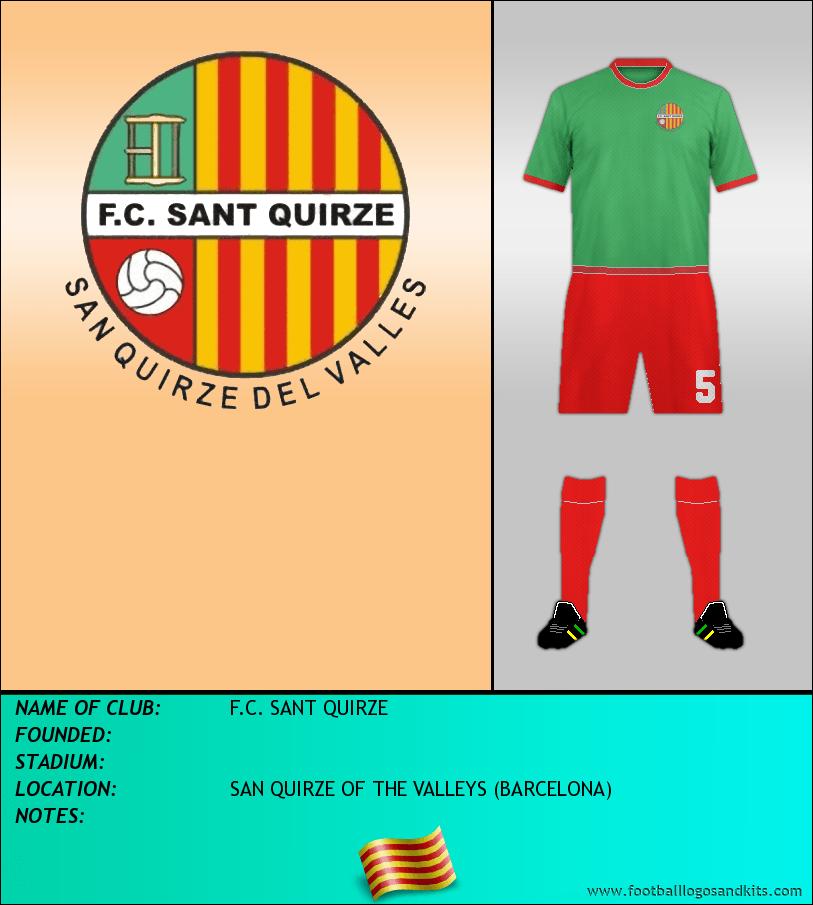 Logo of F.C. SANT QUIRZE