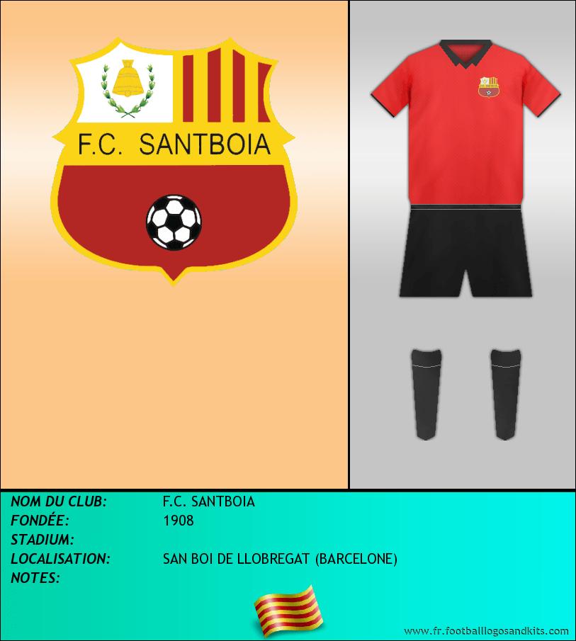 Logo de F.C. SANTBOIA