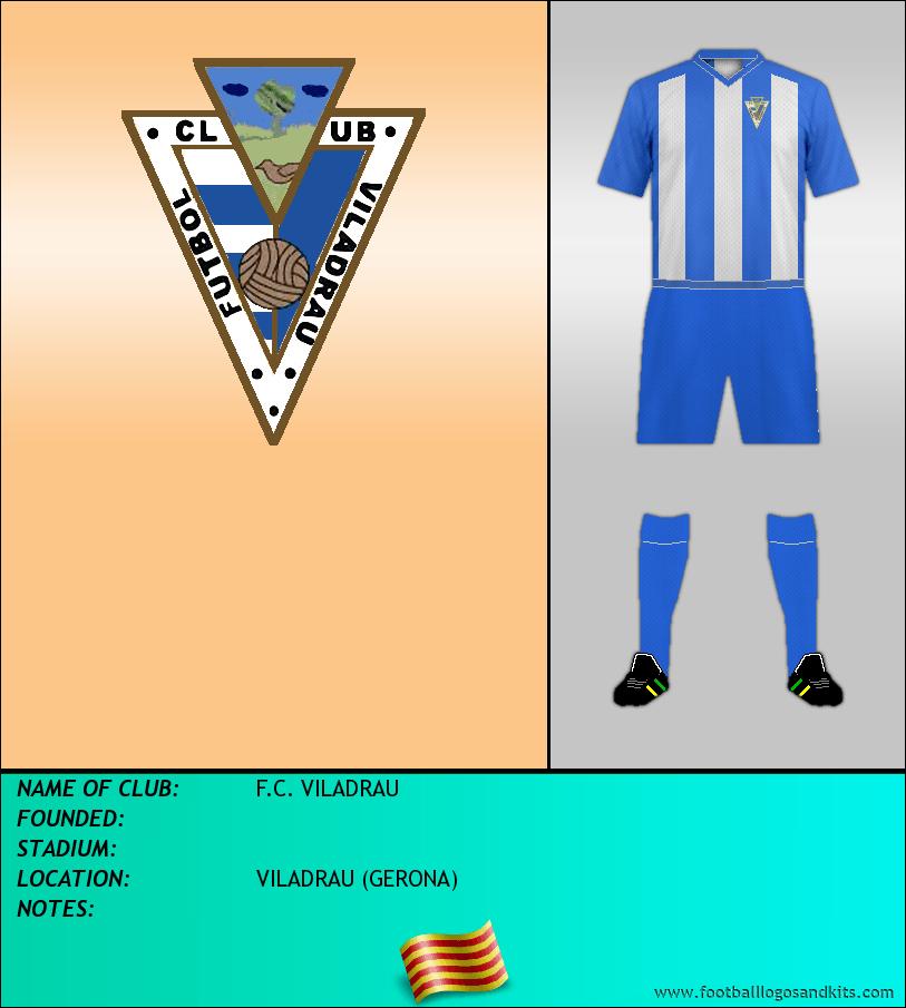 Logo of F.C. VILADRAU
