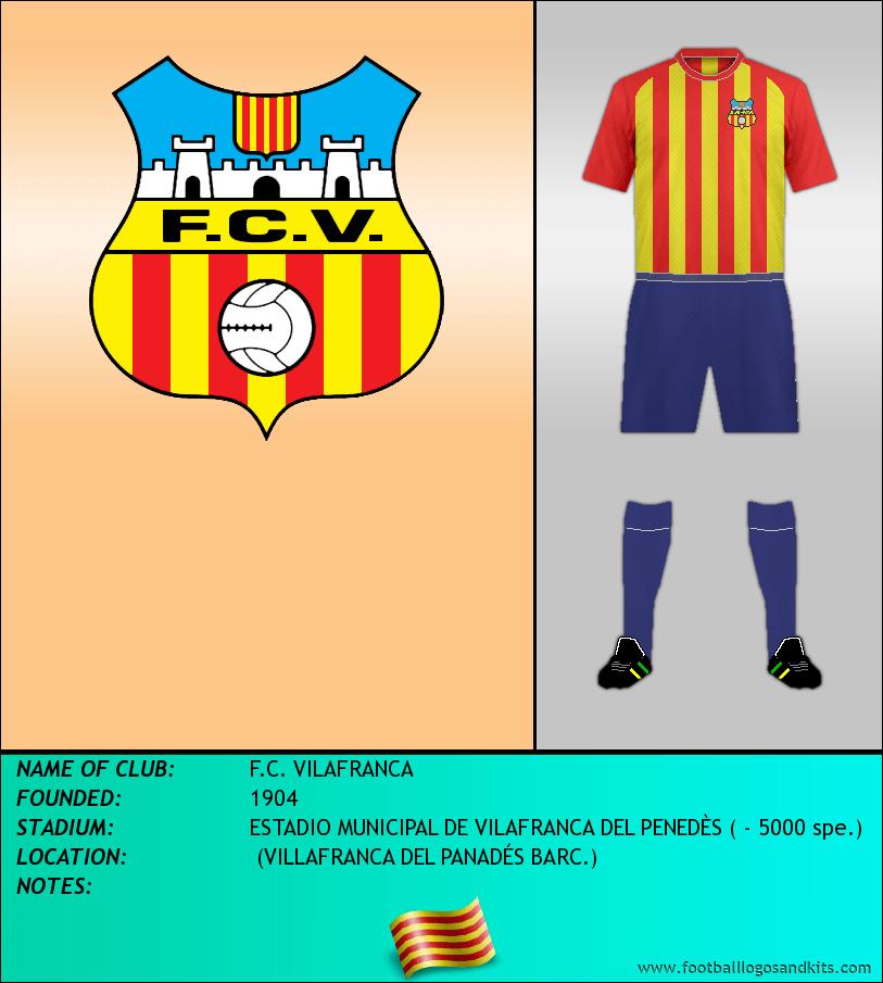 Logo of F.C. VILAFRANCA