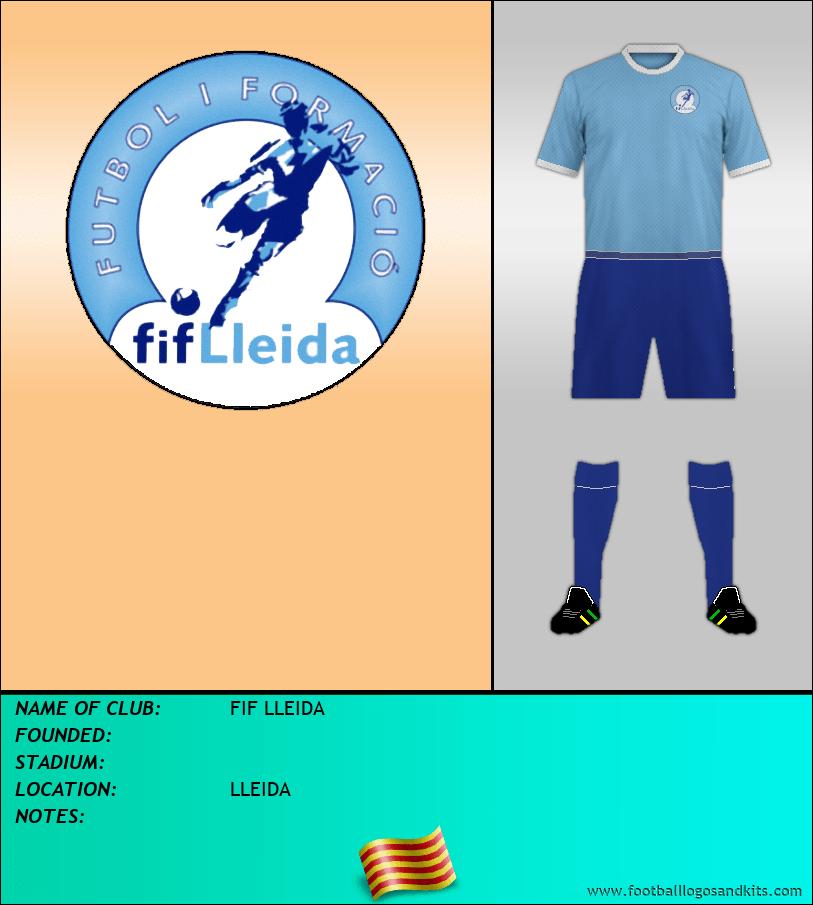 Logo of FIF LLEIDA