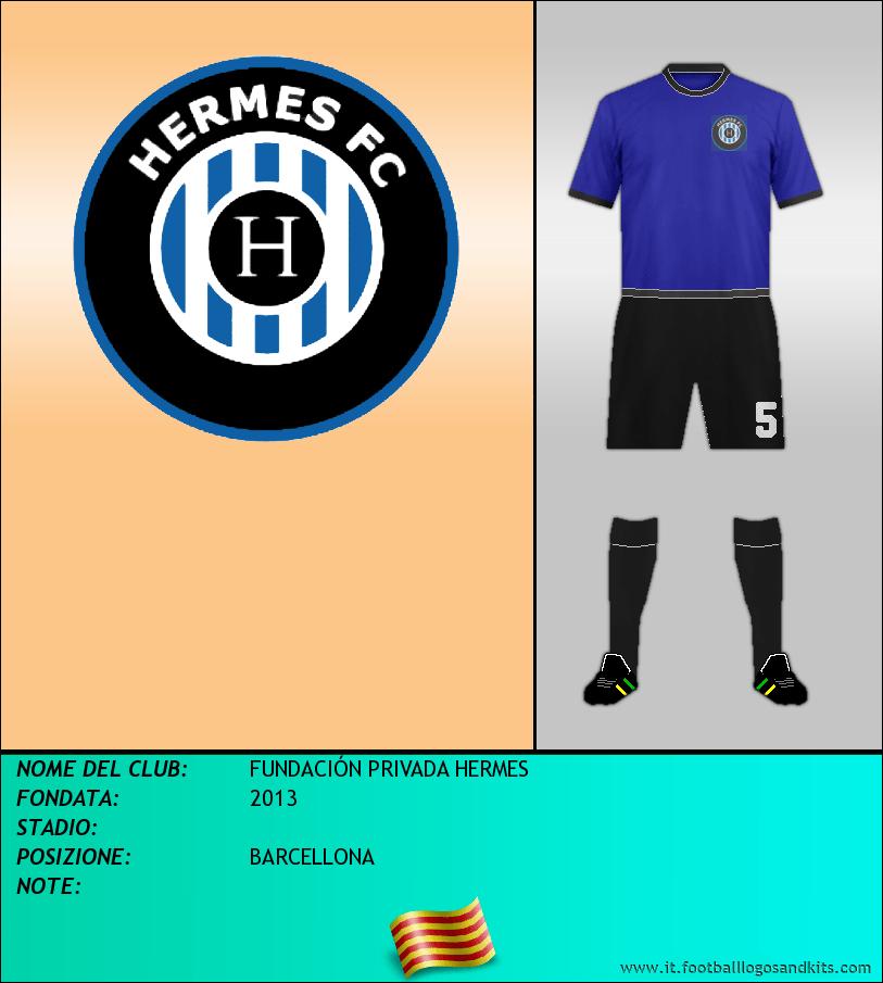 Logo di FUNDACIÓN PRIVADA HERMES
