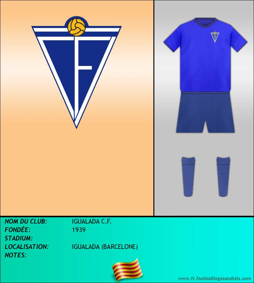 Logo de IGUALADA C.F.