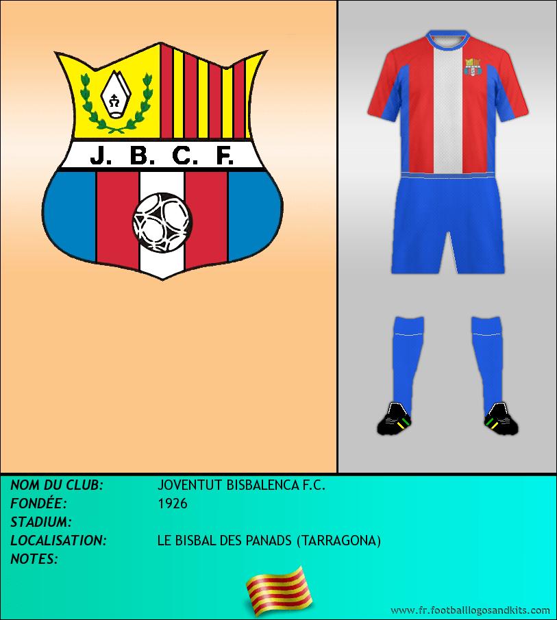 Logo de JOVENTUT BISBALENCA F.C.