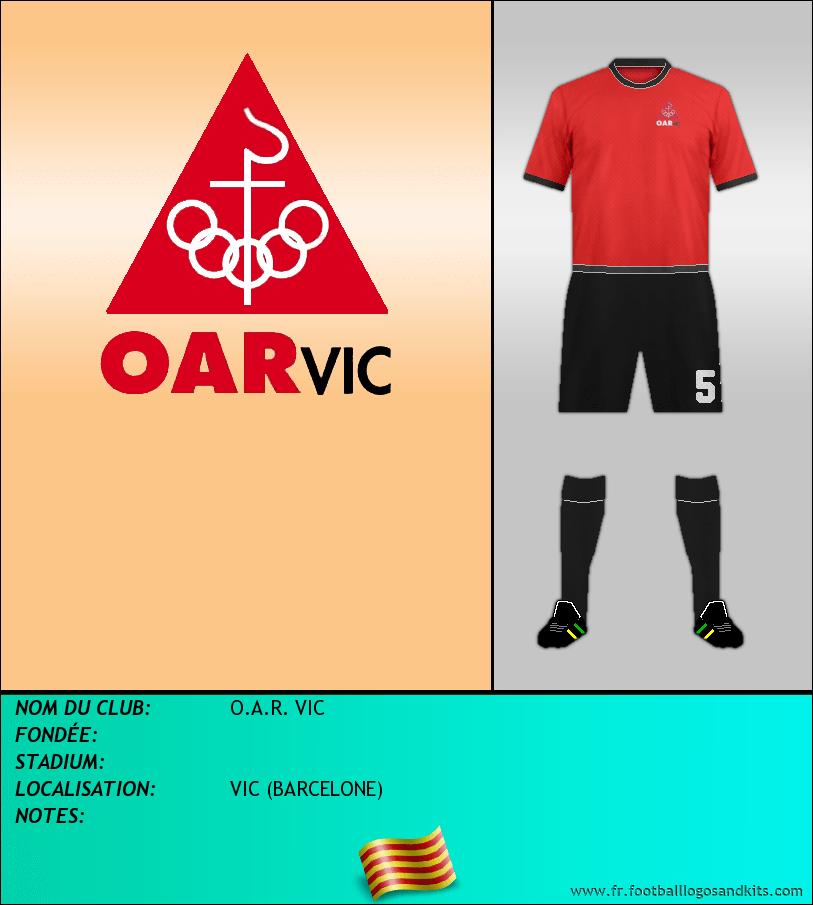 Logo de O.A.R. VIC