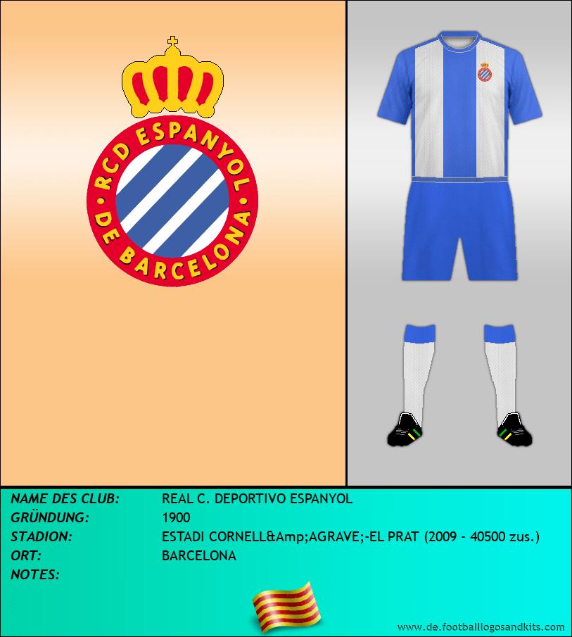 Logo REAL C. DEPORTIVO ESPANYOL