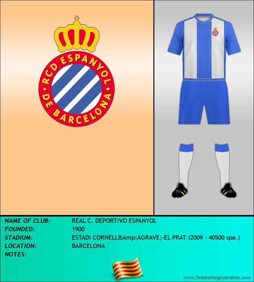 Logo of REAL C. DEPORTIVO ESPANYOL