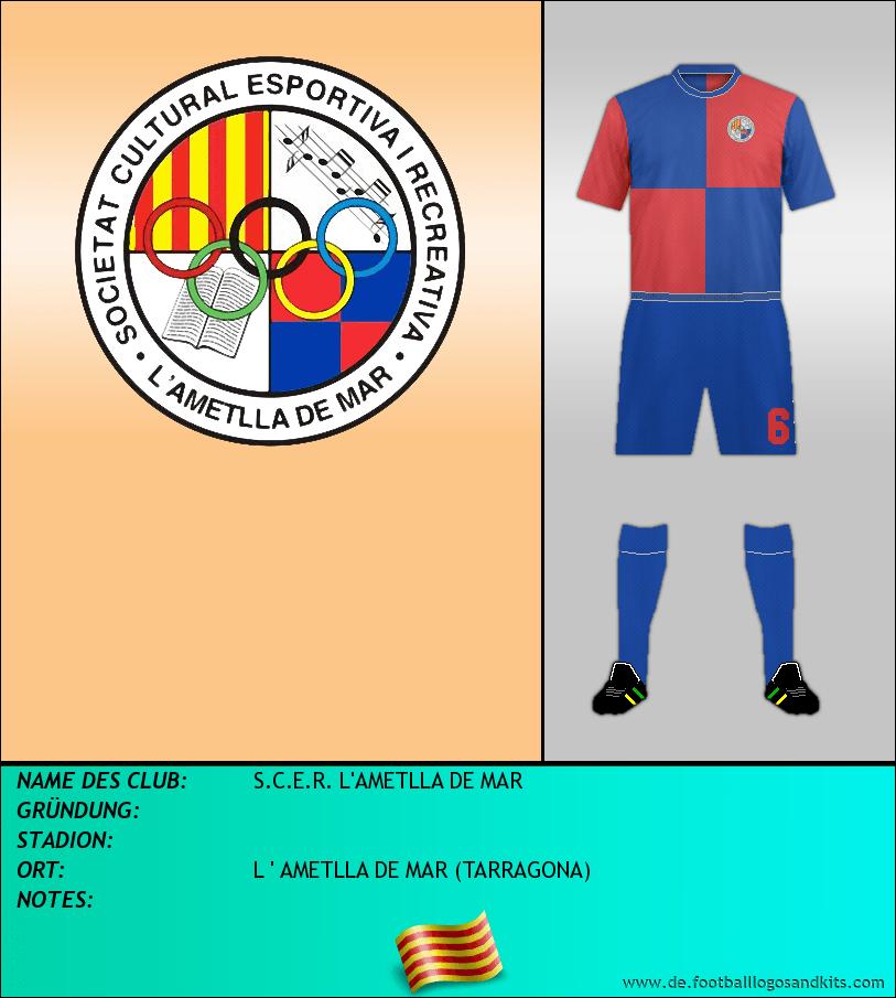 Logo S.C.E.R. L'AMETLLA DE MAR