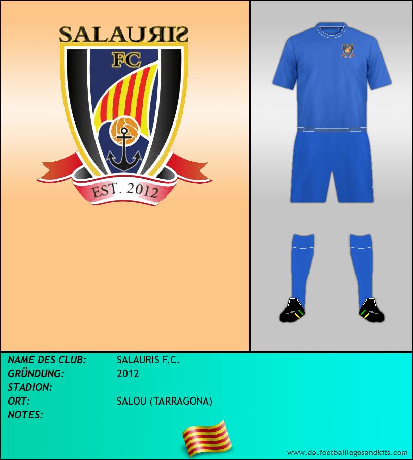 Logo SALAURIS F.C.
