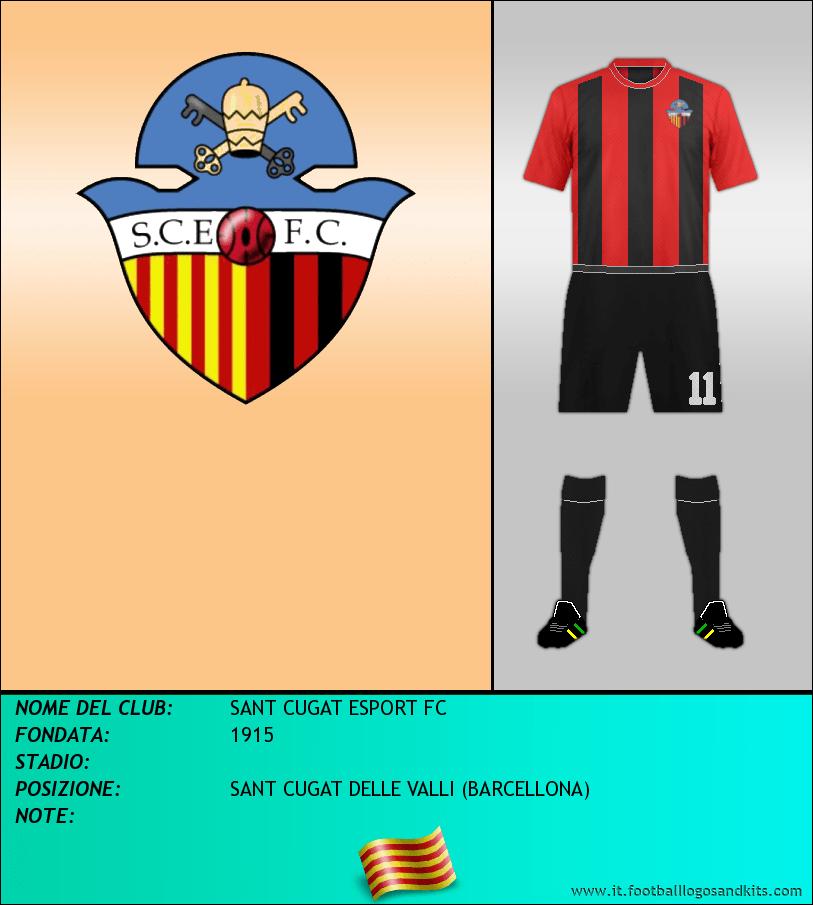 Logo di SANT CUGAT ESPORT FC