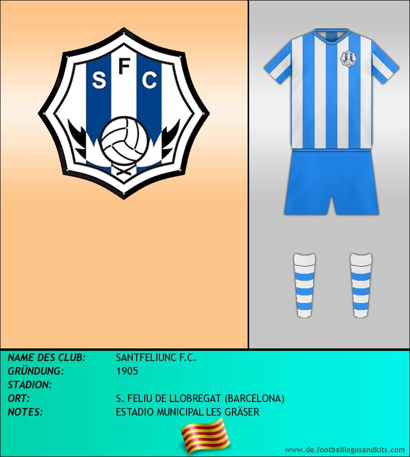Logo SANTFELIUNC F.C.