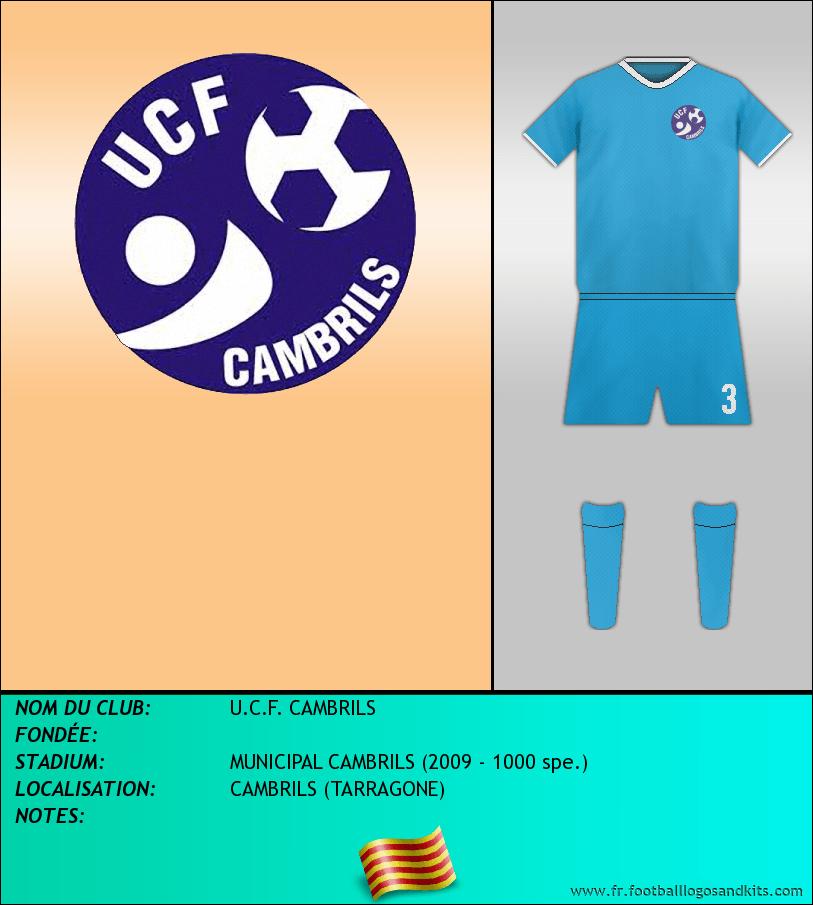 Logo de U.C.F. CAMBRILS