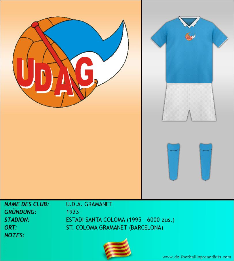 Logo U.D.A. GRAMANET