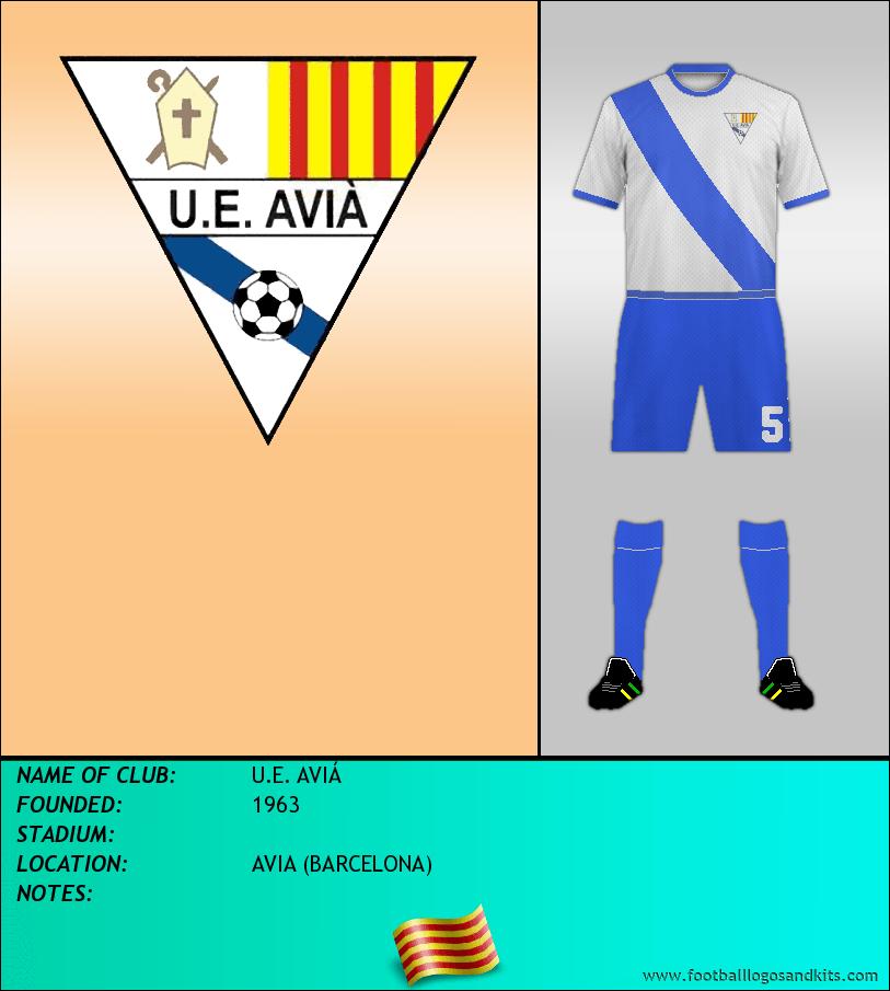 Logo of U.E. AVIÁ