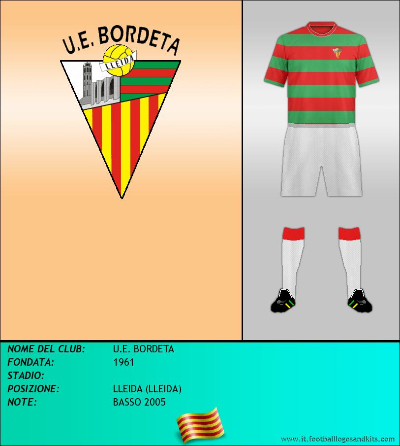Logo di U.E. BORDETA
