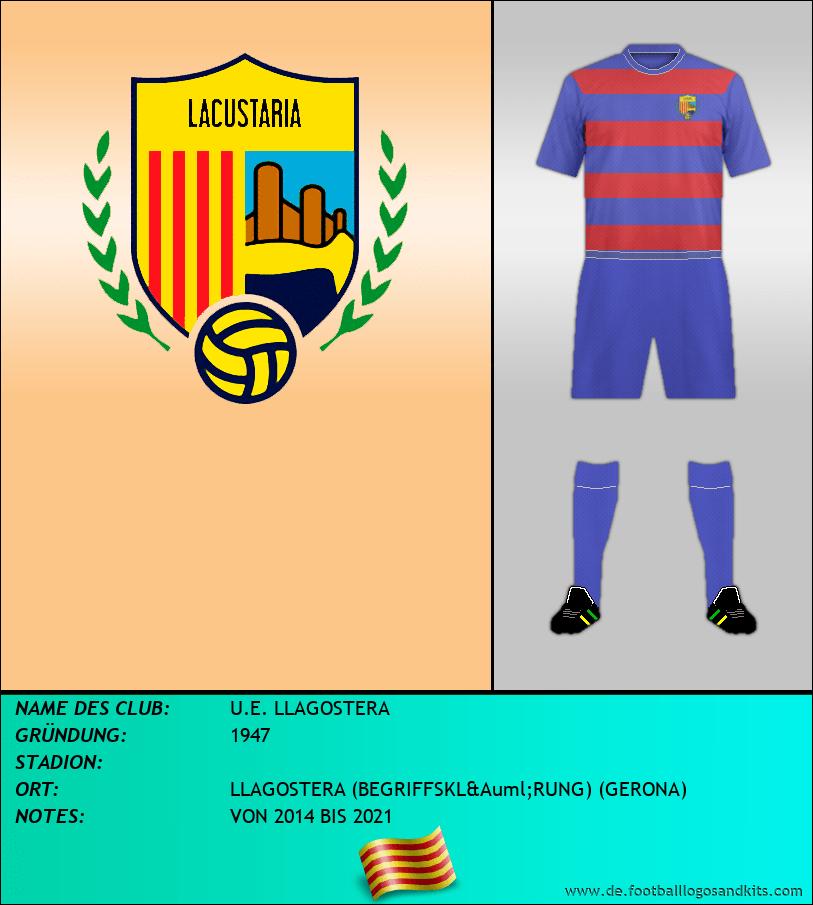 Logo U.E. LLAGOSTERA