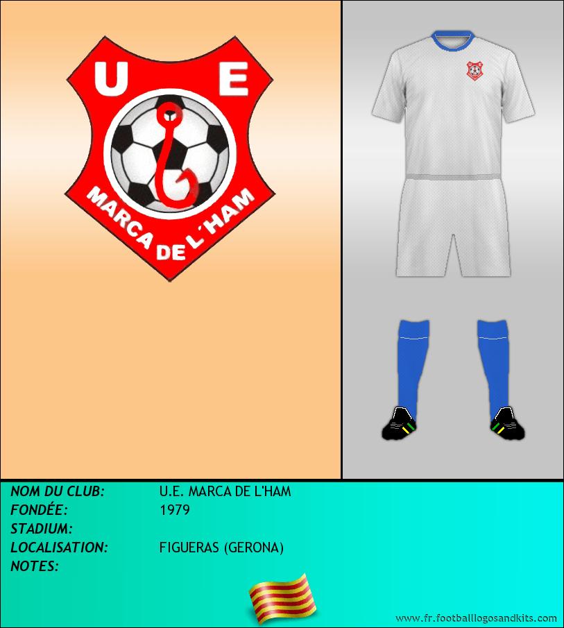 Logo de U.E. MARCA DE L'HAM