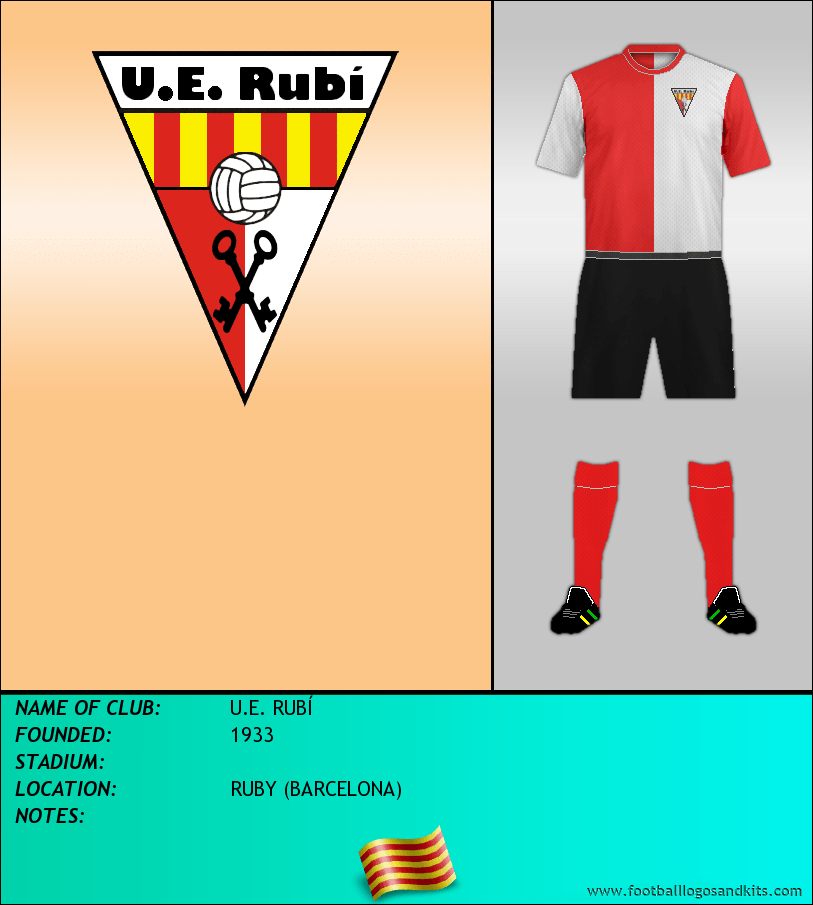 Logo of U.E. RUBÍ