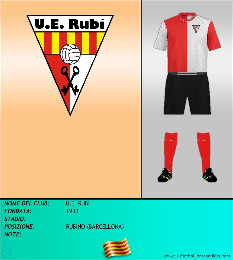 Logo di U.E. RUBÍ