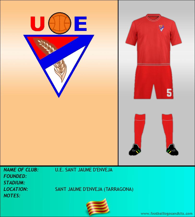 Logo of U.E. SANT JAUME D'ENVEJA