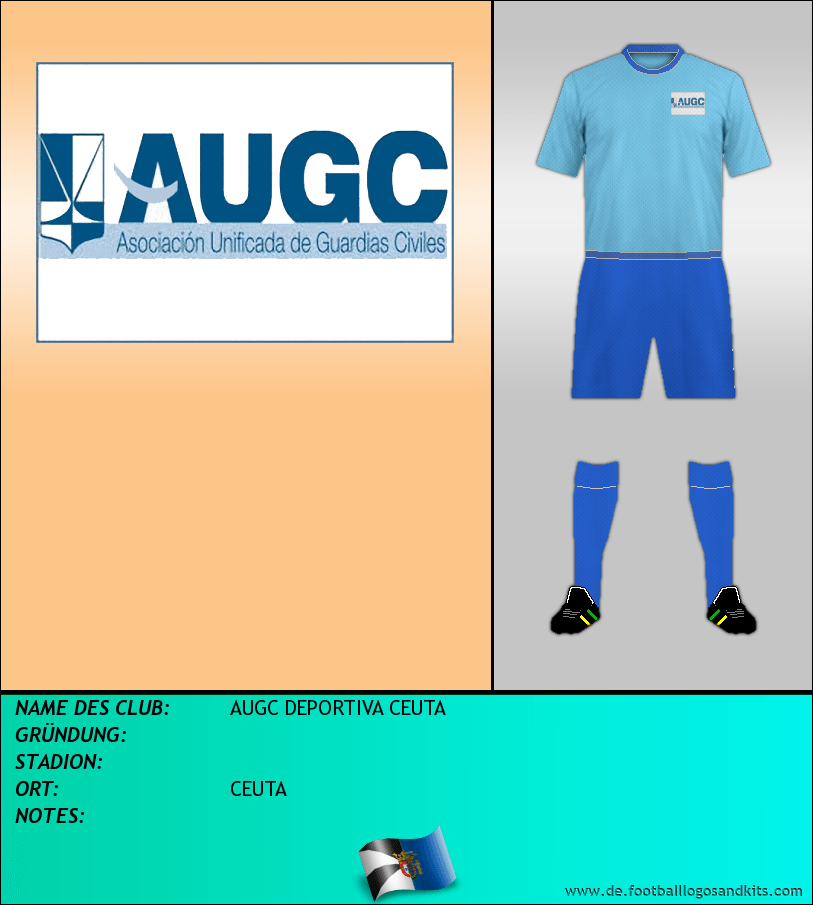 Logo AUGC DEPORTIVA CEUTA