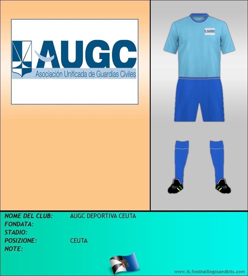 Logo di AUGC DEPORTIVA CEUTA
