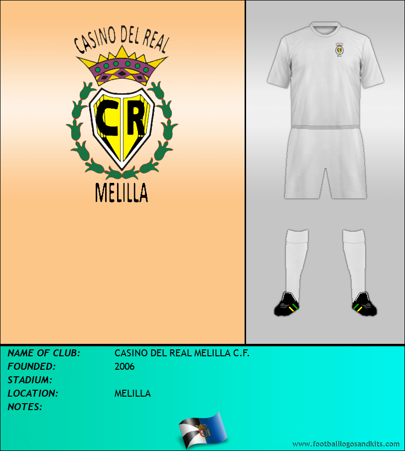 Logo of CASINO DEL REAL MELILLA C.F.