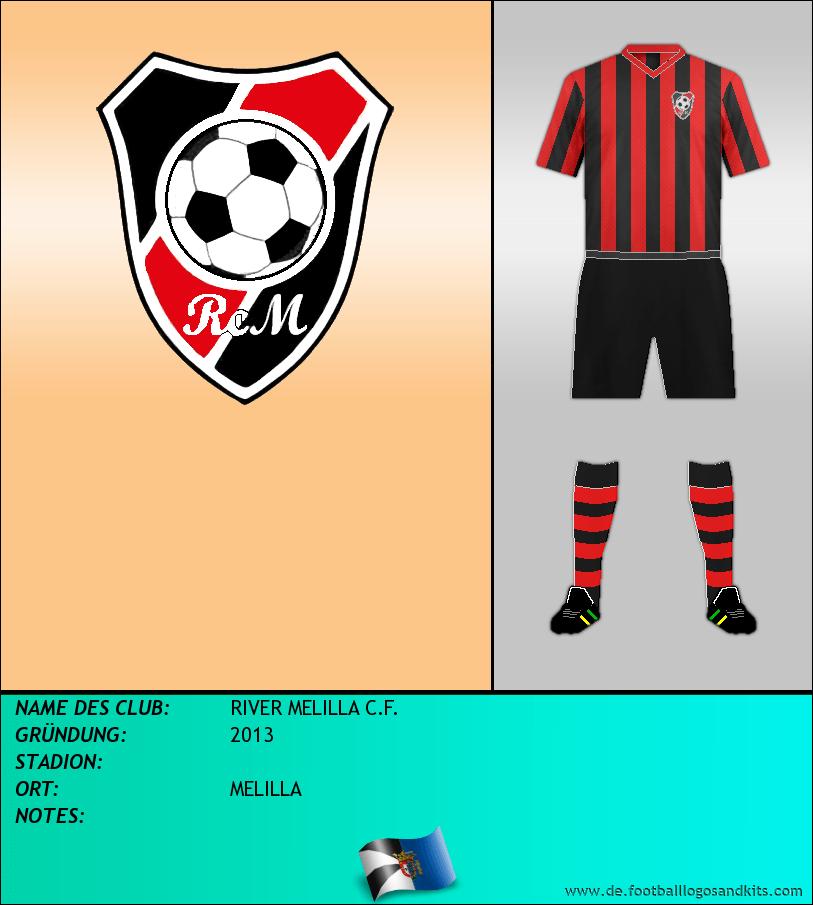 Logo RIVER MELILLA C.F.