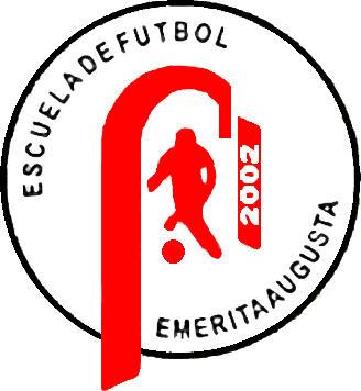 のロゴ学校のフットボールのエメ リタ アウグスタ (エストレマドゥーラ州)