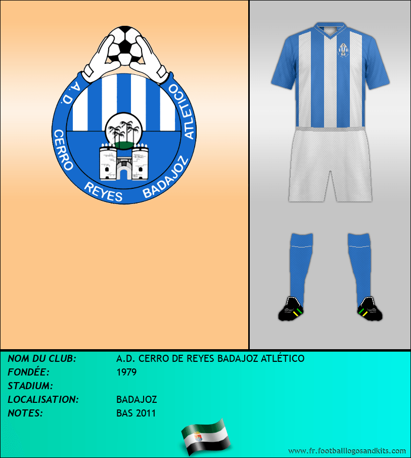 Logo de A.D. CERRO DE REYES BADAJOZ ATLÉTICO
