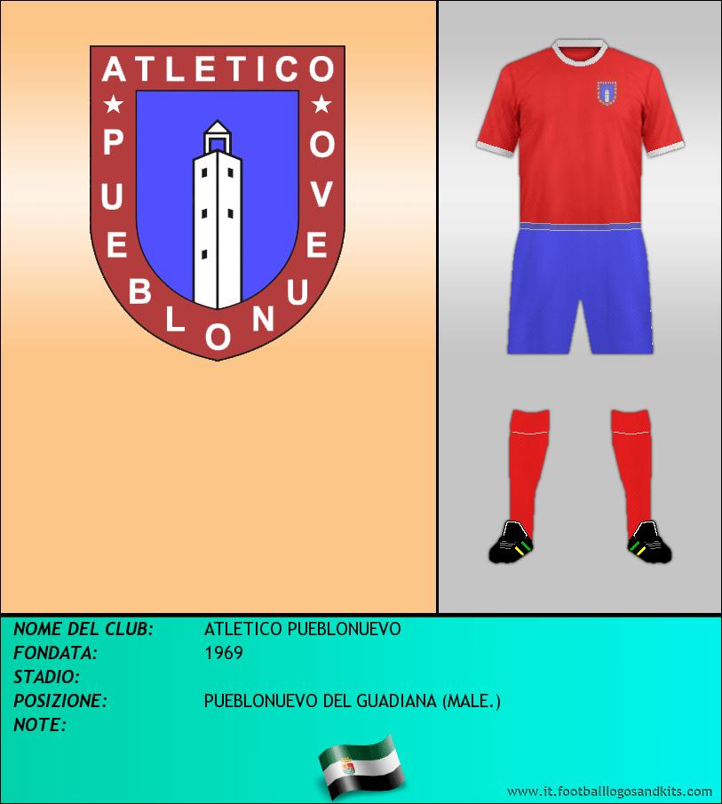 Logo di ATLETICO PUEBLONUEVO