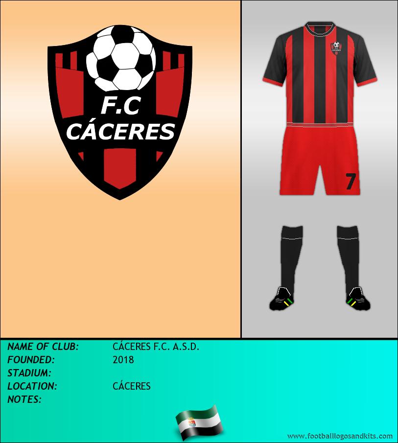 Logo of CÁCERES F.C. A.S.D.