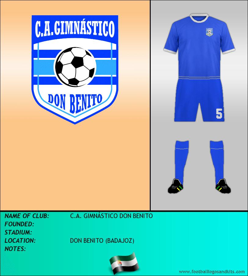 Logo of C.A. GIMNÁSTICO DON BENITO