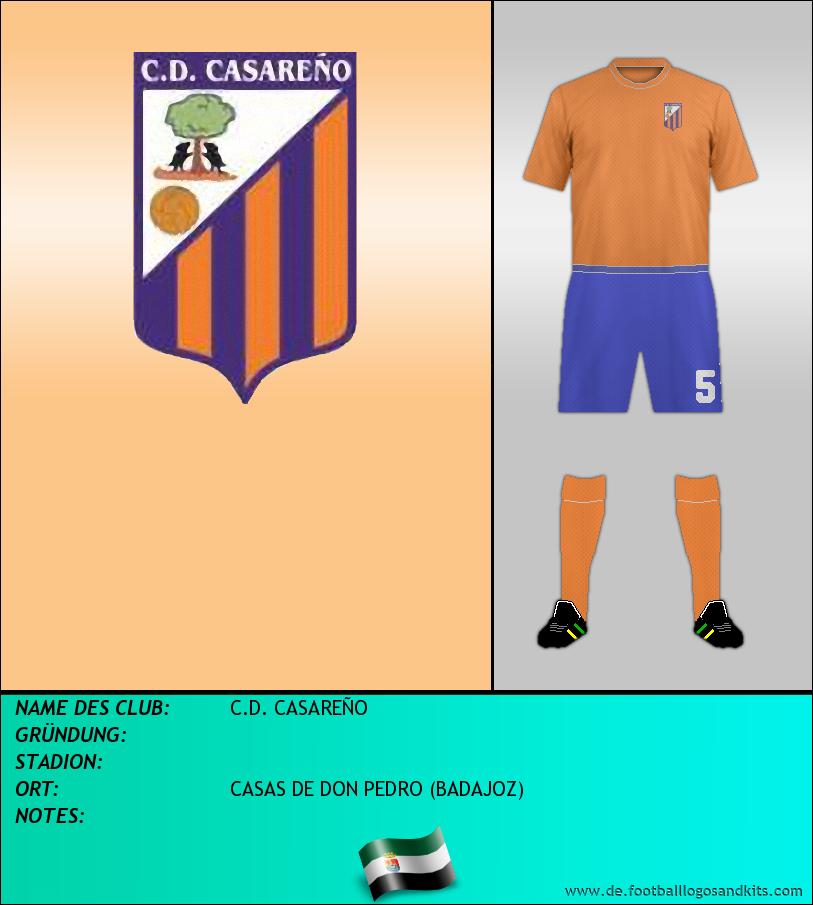 Logo C.D. CASAREÑO