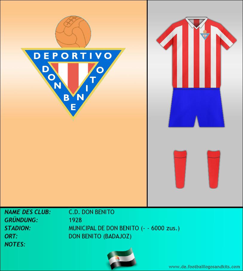 Logo C.D. DON BENITO