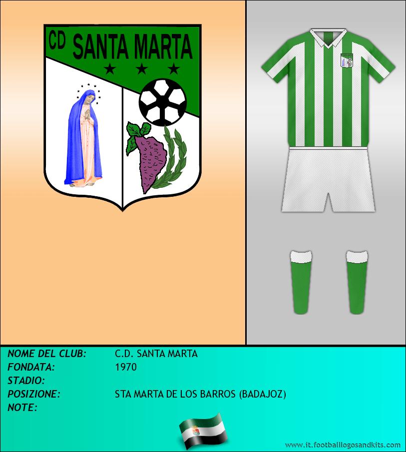 Logo di C.D. SANTA MARTA