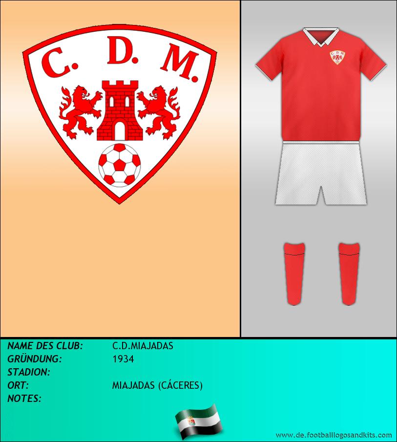 Logo C.D.MIAJADAS