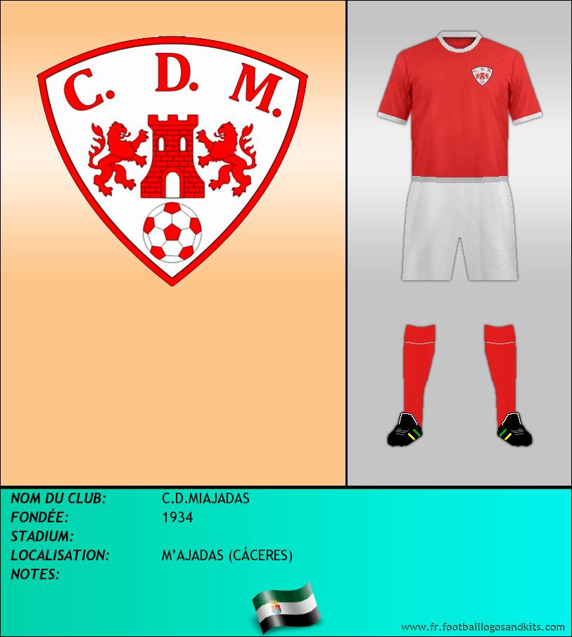 Logo de C.D.MIAJADAS
