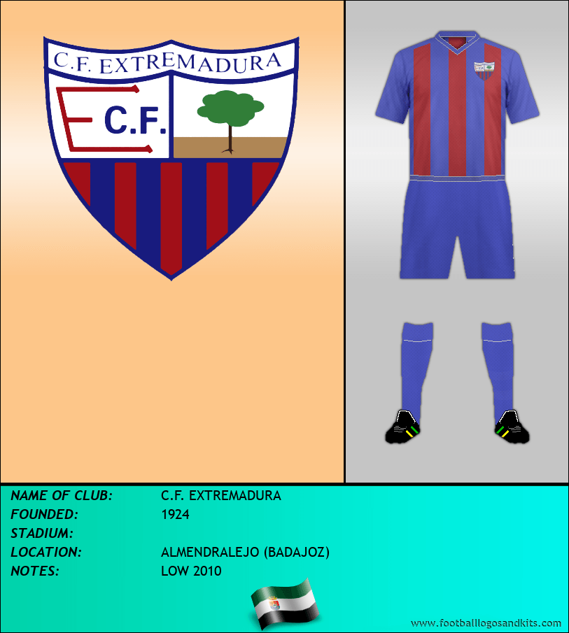 Logo of C.F. EXTREMADURA