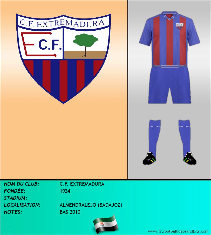 Logo de C.F. EXTREMADURA