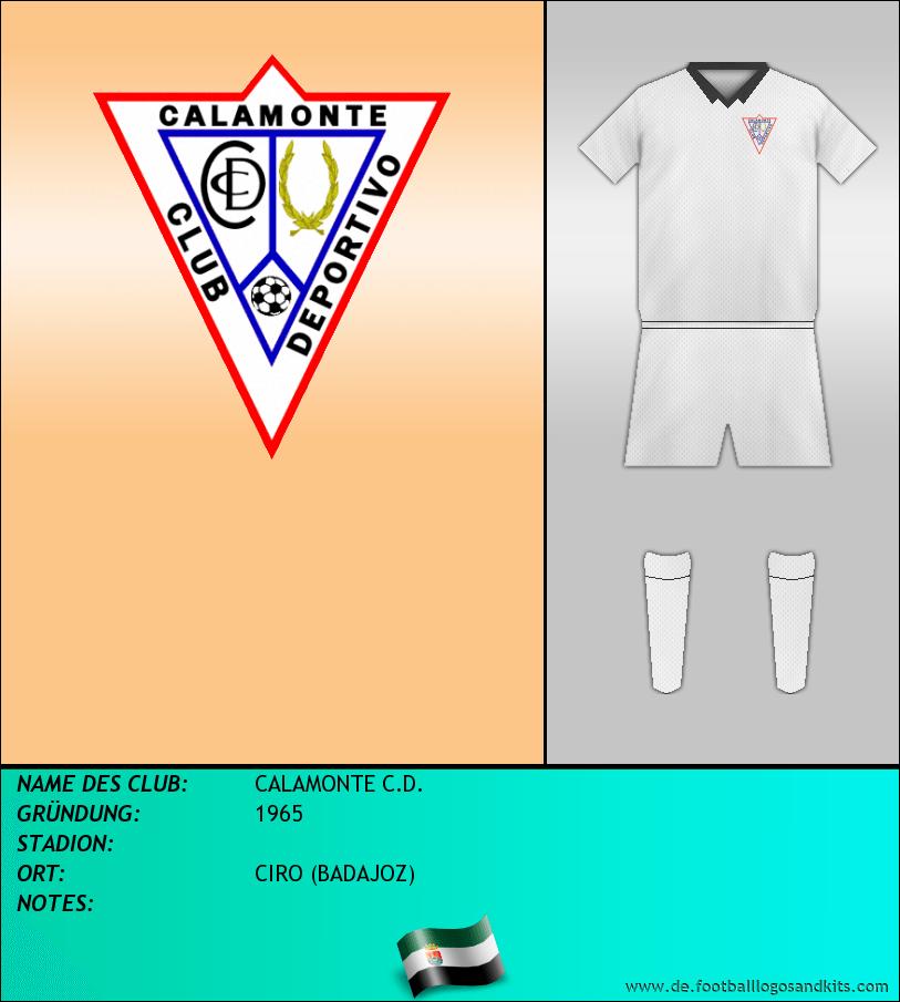 Logo CALAMONTE C.D.